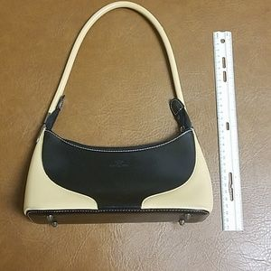 Daniela Moda Black and Tan small purse